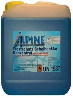Alpine Scheibenfrostschutz Konzentrat bis - 60°C