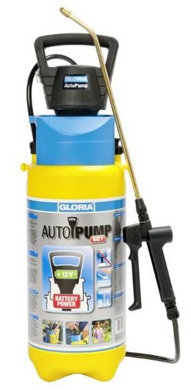 GLORIA Drucksprühgerät Prima 5 AutoPump incl. 8 x 1,5V Mignon/AA