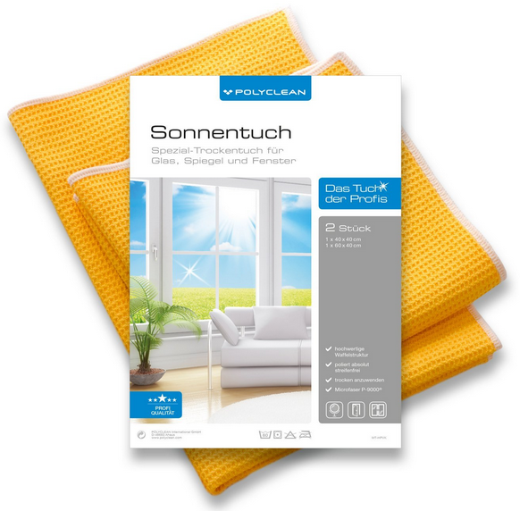 POLYCLEAN Sonnentuch Set